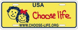 Choose Life Plates